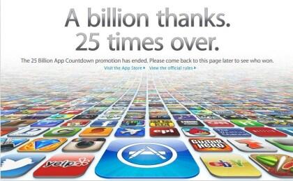 App Store: 25 Milliarden Downloads