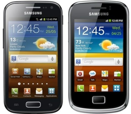 Samsung Galaxy Ace 2 und Galaxy mini 2