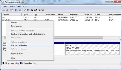 Windows 8 Installation parallel zu Windows 7