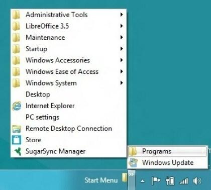 Windows 8: So bringt man das Start-Menü zurück