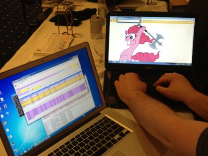 Chrome Hack Pwnie Pie