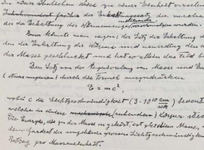 Einstein Archive