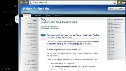 Firefox-Prototyp für Windows 8 Metro UI