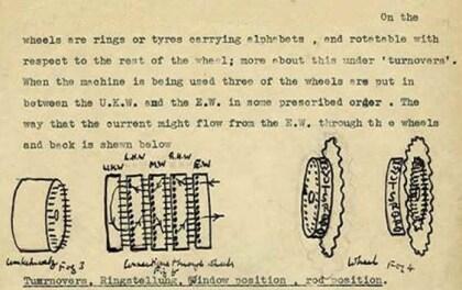 Aufzeichnungen von Alan Turing