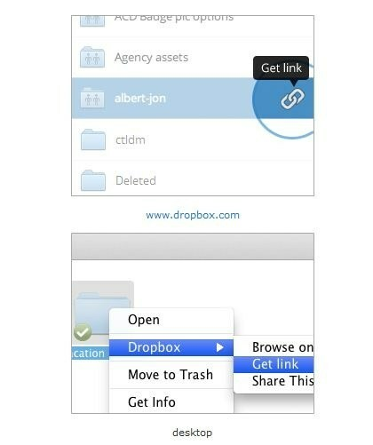 Dropbox: Öffentliche Links