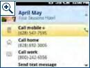Android-Screenshots aus 2006 bis 2007