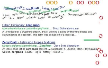 Google Easter Egg Zerg Rush
