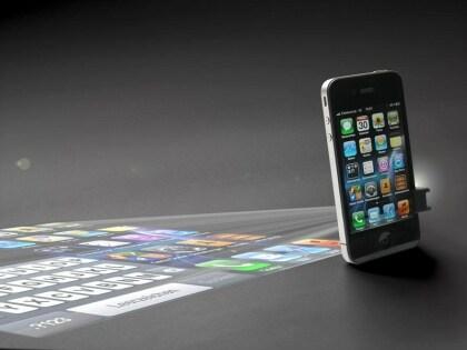 Mikro-Projektor für Smartphones