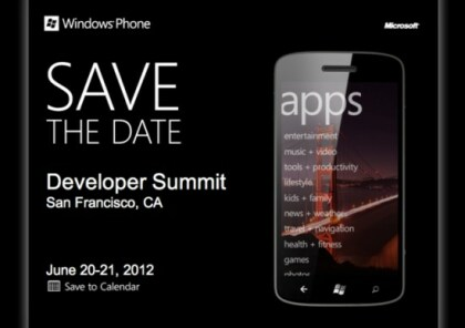 Windows Phone Developer Summit 2012