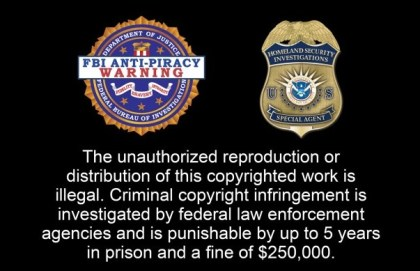 Urheberrechts-Warnung