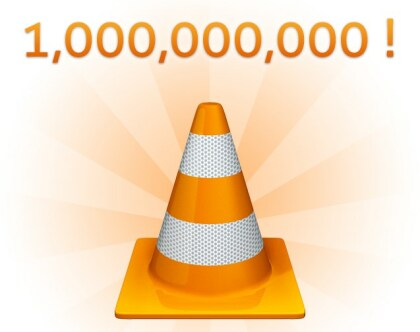 VLC - Eine Milliarde Downloads