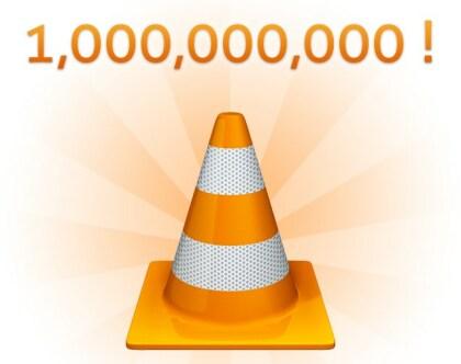 VLC - Eine Milliarde Downloads