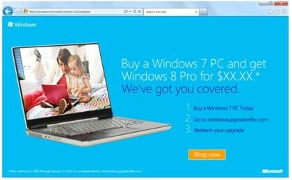 Windows 8 Upgrade Programm