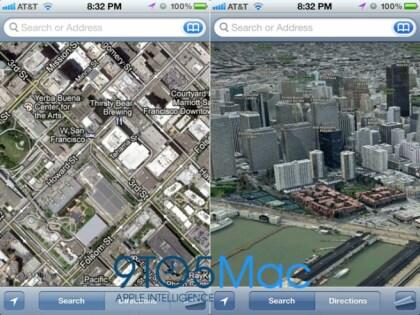 Apple 3D-Karten Mockup