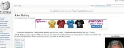 Werbe-Malware auf Wikipedia