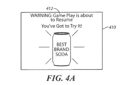 Sony Werbe-Patent