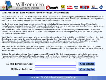 Screenlock-Trojaner