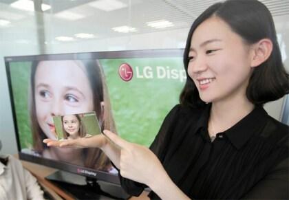 LG Smartphone-Display mit Full-HD
