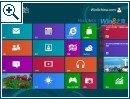 Windows 8 Build 8400 Bilder aus China