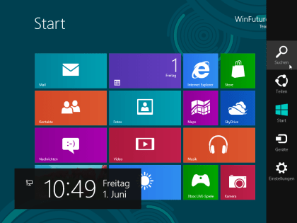 Windows 8 Release Preview - Media Center