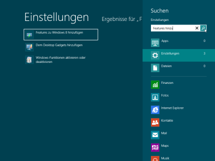 Windows 8 Release Preview - Media Center