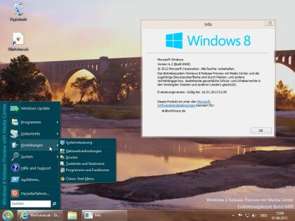 Windows 8 - Modifikationen f�r das Startmen�