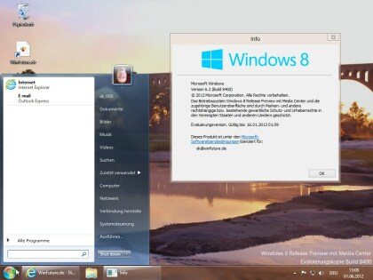 Windows 8 - Modifikationen für das Startmenü