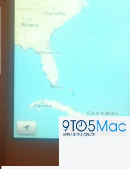 iOS 6 Karten App