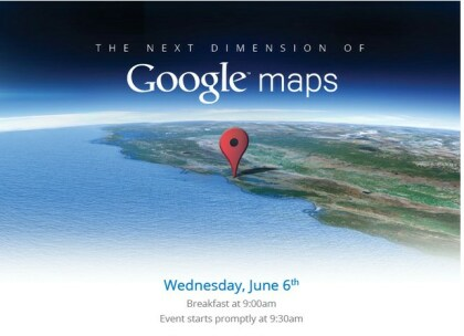 Google Maps Event 6. Juni