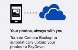 SkyDrive iOS-App