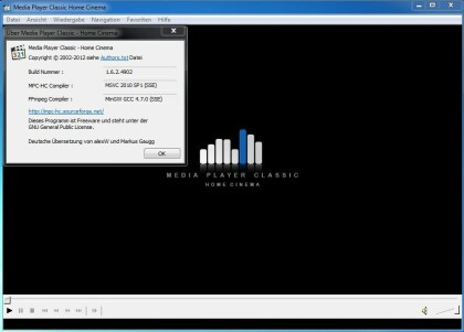 Media Player Classic - Home Cinema 1.6