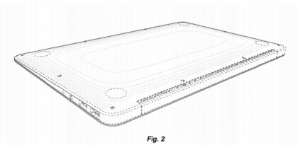 Apple MacBook Air Design-Patent