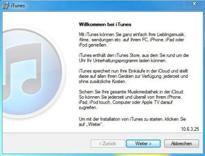 iTunes 10.6.3
