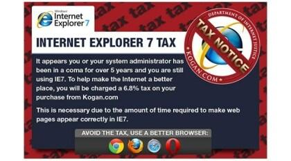 IE7-Steuer