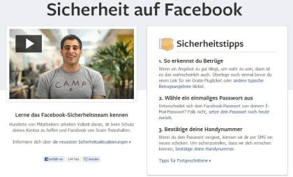 Facebook-Sicherheitstipps