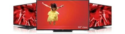 Sharp: Gr��ter LED-TV der Welt