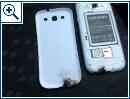 Samsung Galaxy S III Feuer