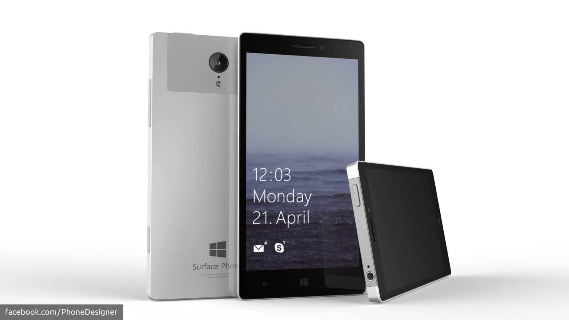 Microsoft Surface Phone Ideen