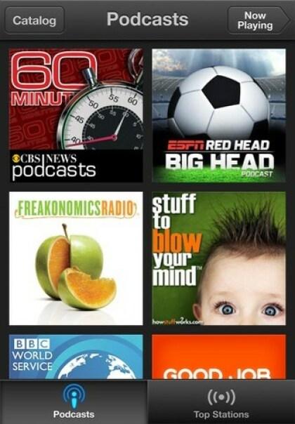 Apple Podcast App