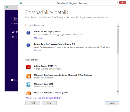 Windows 8: Upgrade auf Win 8 Pro