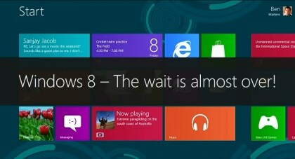 Windows 8 kommt Ende Oktober