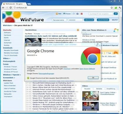 Chrome 20.0.1132.57
