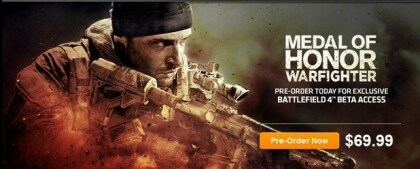 Pre-Order Medal of Honor Warfighter