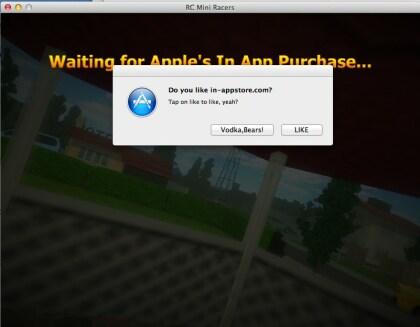 Mac OS X: In-App-Hack