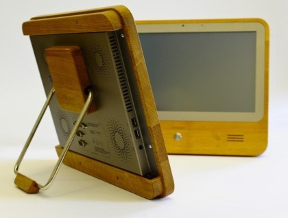 PC im Holzgah�use