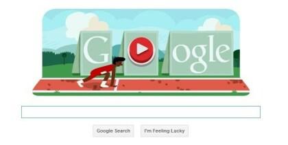 Google Doodle Olympia