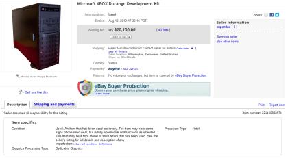 Durango-Devkit auf eBay