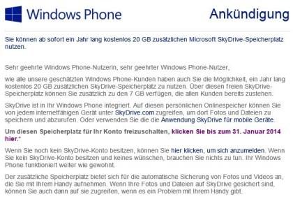 SkyDrive im neuen Design