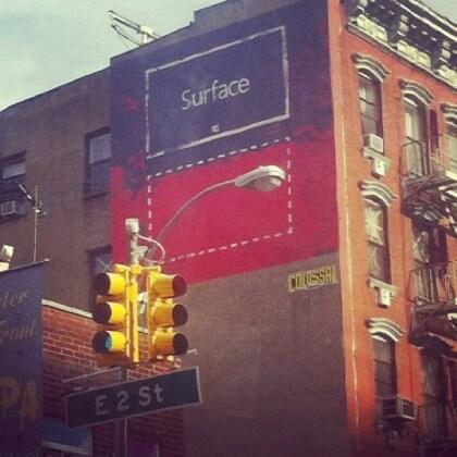 Microsoft Surface Graffiti