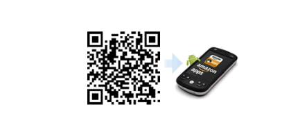 Amazon App-Shop QR-Code